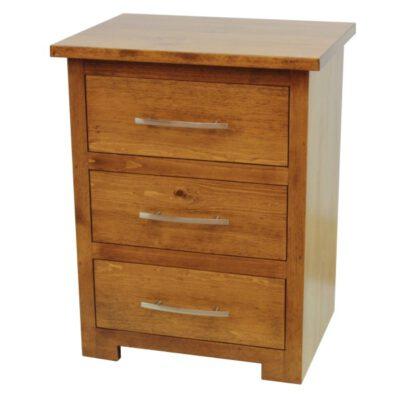 Custom 3 drawer night stand
