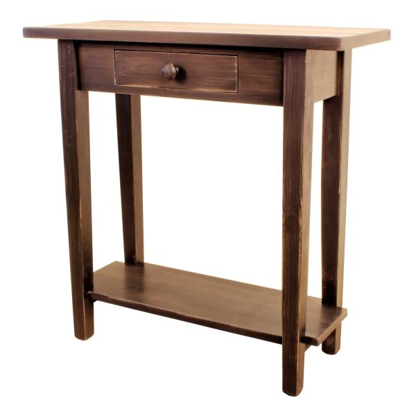 JW 050 Mini Sofa Table with custom rustic look