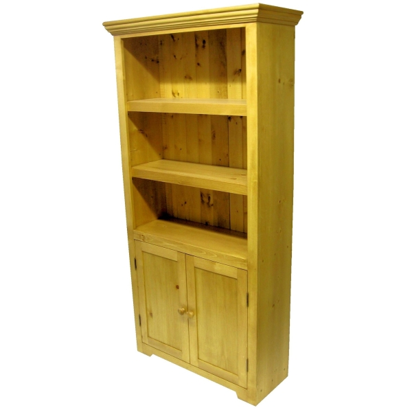 JW 115WD Medium Bookcase with doors
