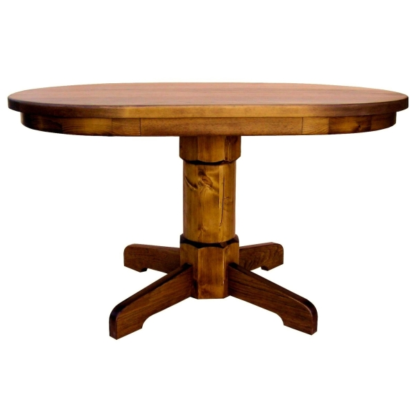 JW 161 Oval Pedestal Table