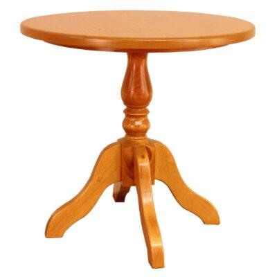 JW 180-P Round Pedestal End Table