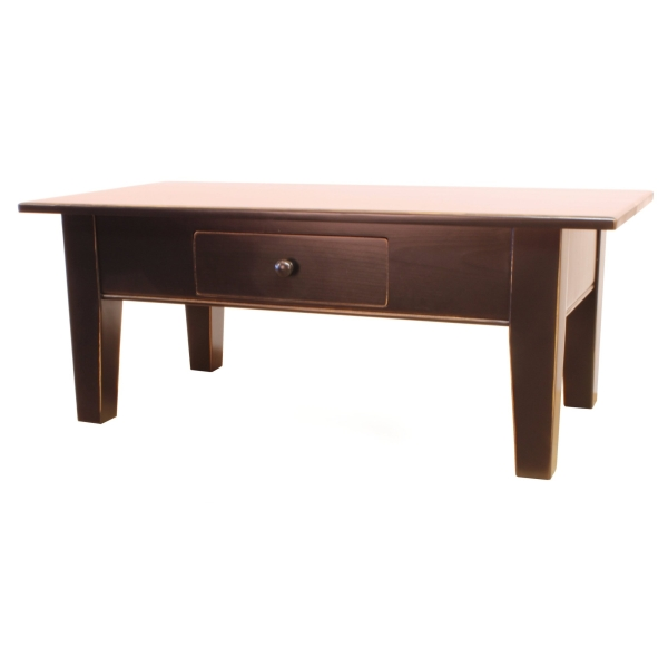 JW 190-1D Coffee Table with go through drawer