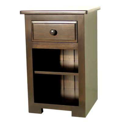 JW 400-3 Night Stand with drawer & shelf