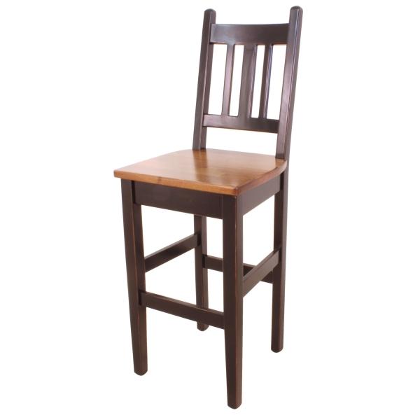 JW 810 High Slat Back Bair Chair