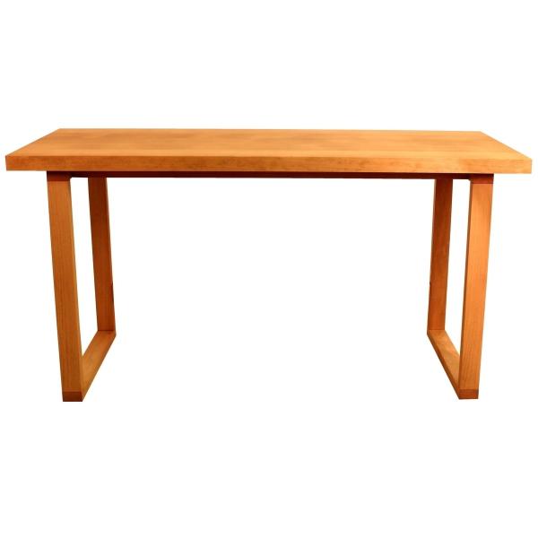 U-base dining table