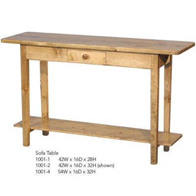 1001-1 2 4 Sofa Table