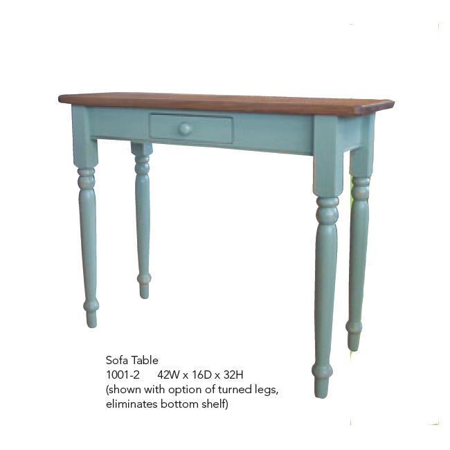 1001-2 Sofa Table