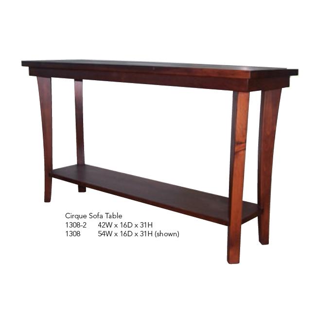 1001-2b Sofa Table