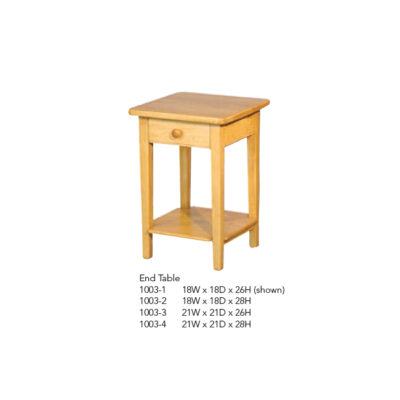 1003-1 End Table