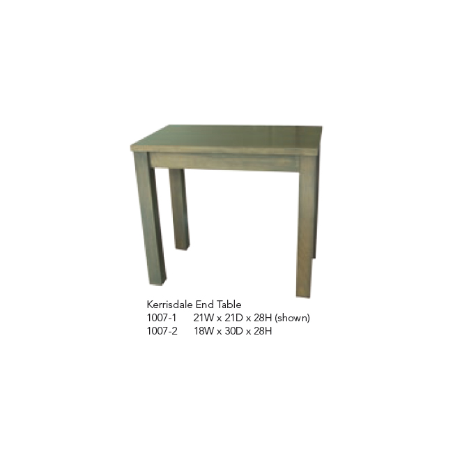 1007-1 Kerrisdale End Table