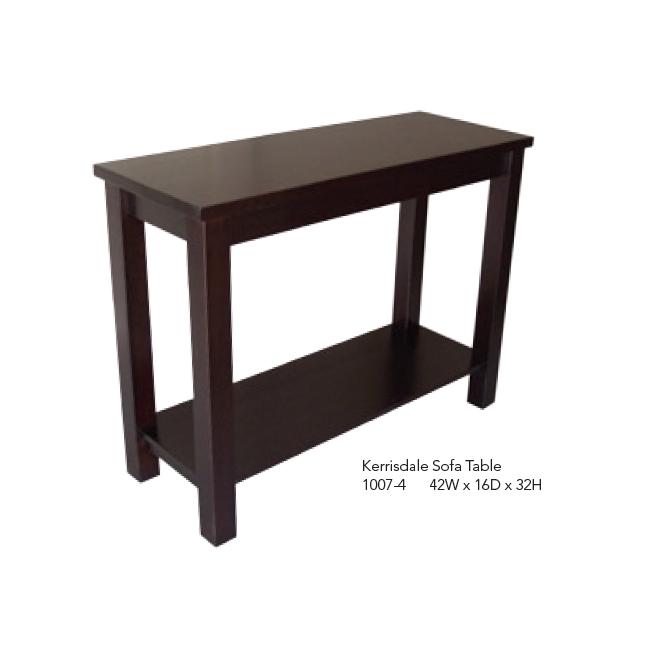 1007-4 42W x 16D x 32H Kerrisdale Sofa Table