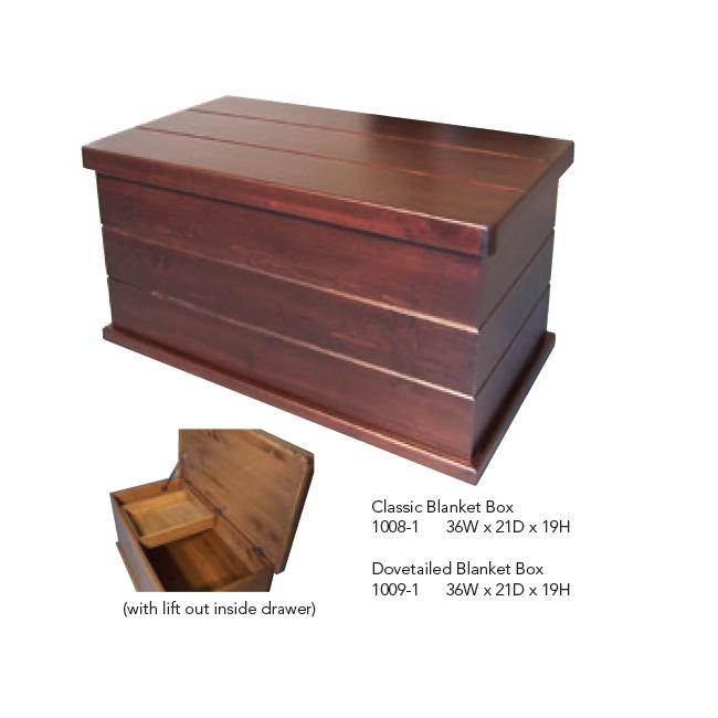 1008-1 Classic Blanket Box
