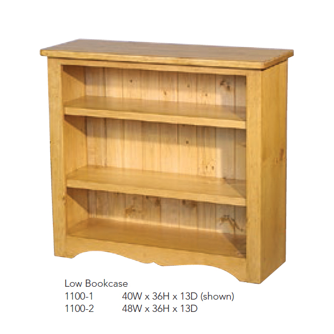 1100-1 Low Bookcase