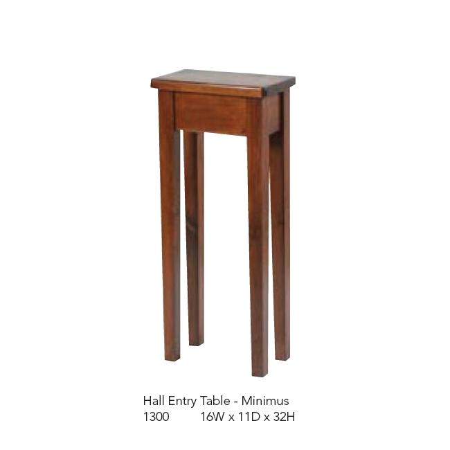 1300 Hall Entry Table - Minimus