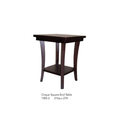 1305-2 Cirque Square End Table