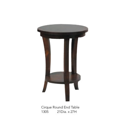 1305 Cirque Round End Table