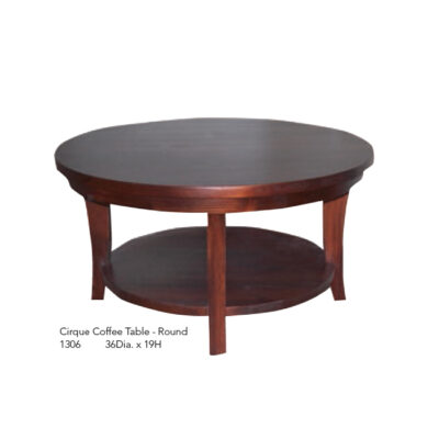 1306 Cirque Coffee Table Round