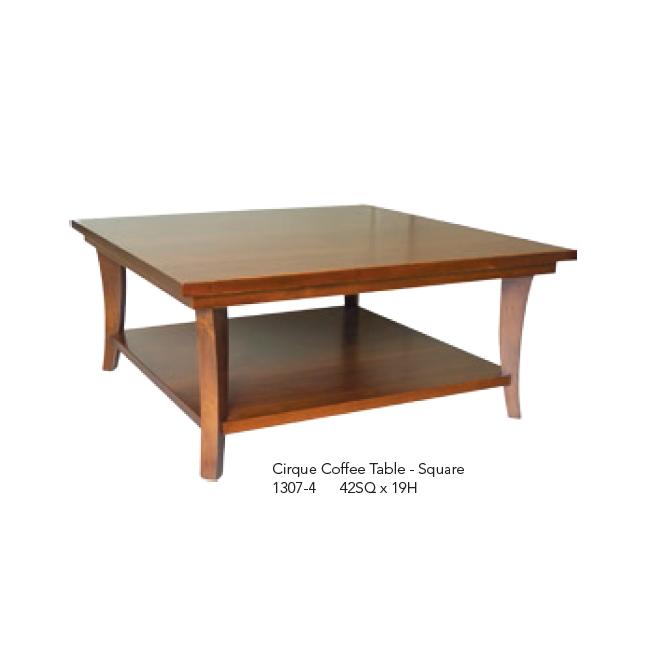 1307-4 Cirque Coffee Table Square