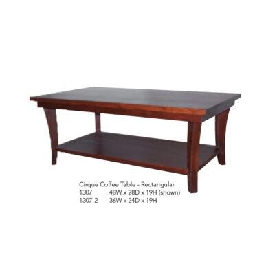 1307 Cirque Coffee Table Rectangular
