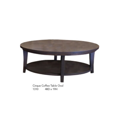 1310 Cirque Coffee Table Oval