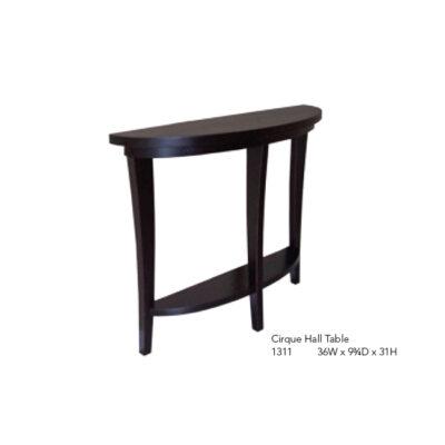 1311 36W x 10D x 31H Cirque Hall Table