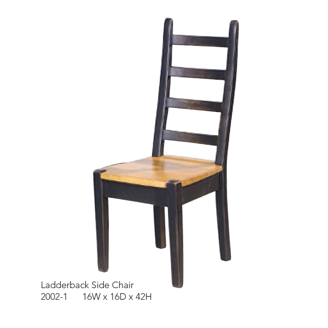 2002-1 Ladderback Side Chair 2