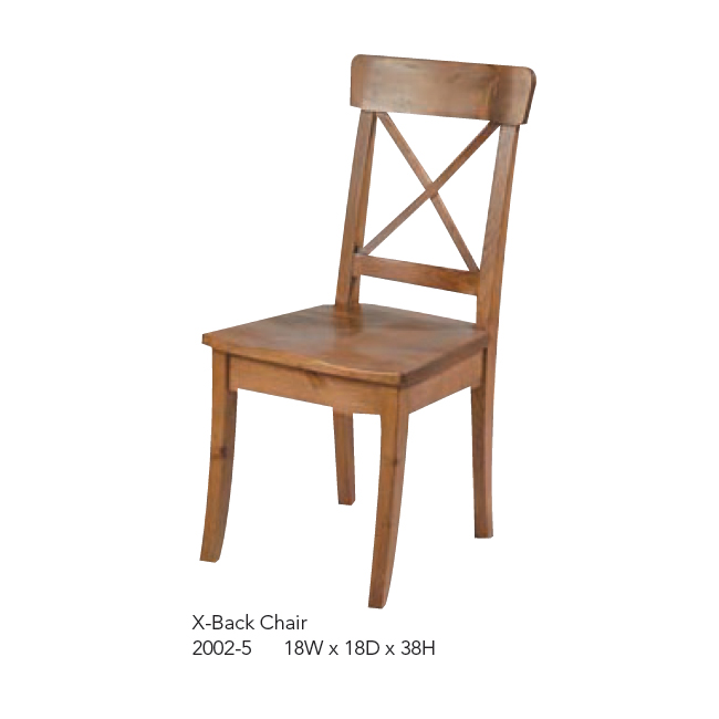 2002-5 X-Back Chair