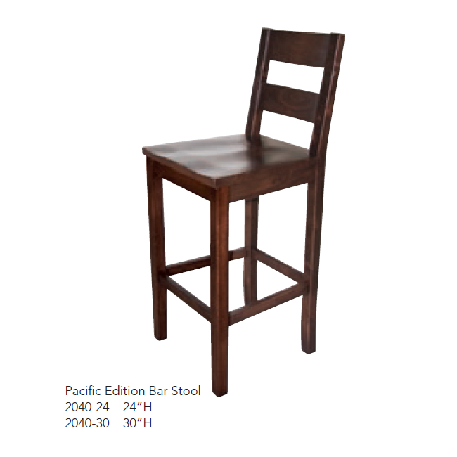2040-24 Pacific Edition Bar Stool