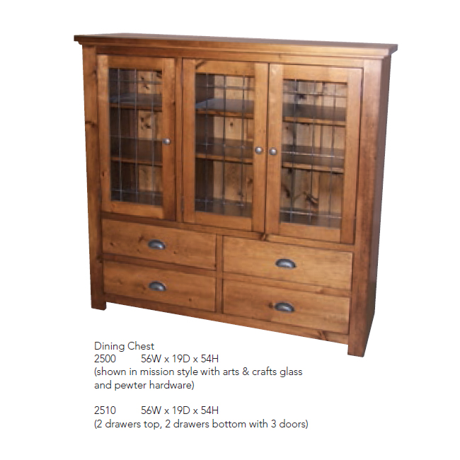 2500 Dining Chest