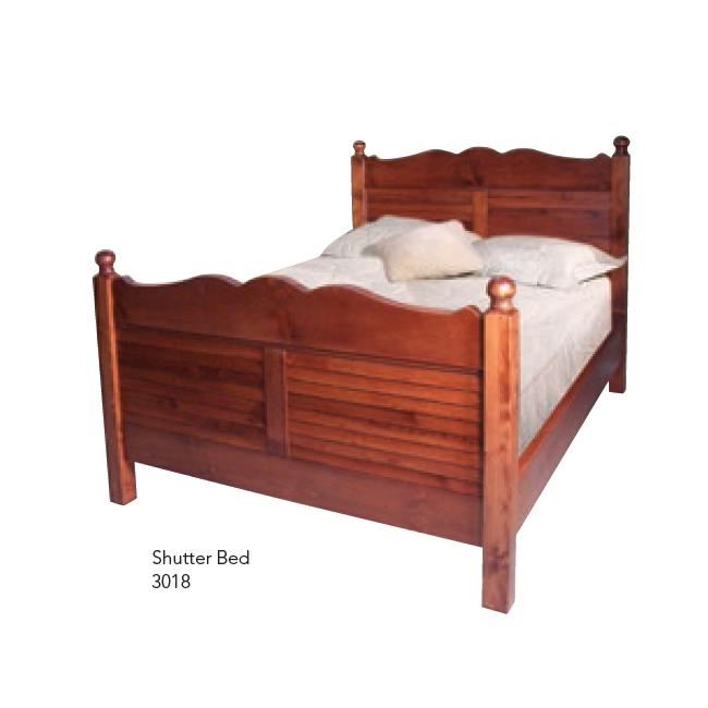 3018 Shutter Bed