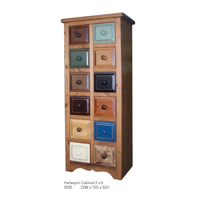 3508 Harlequin Cabinet 2 x 6