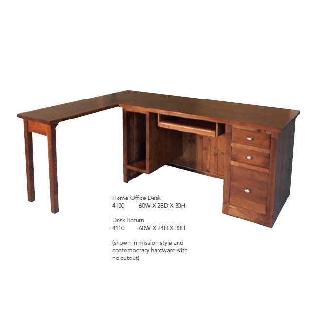 4100 Home Office Desk