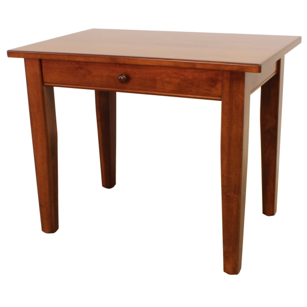 JW 640 Writing Desk with full length drawer or keyboard tray